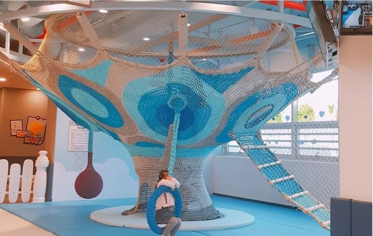 A children's play area in a museum can add value and draw new visitors.