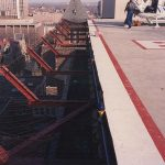 safety netting for helipads and airports