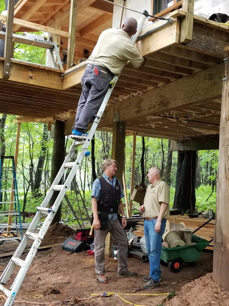 On the Tree House Masters set.
