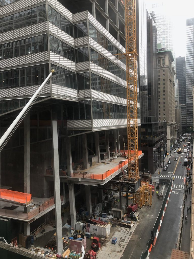 One Vanderbilt Ave under construction