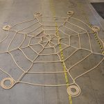 A spiderweb net.