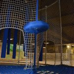 Barrier netting is a wall that allows kids to be safe while enjoying themselves.