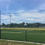 Sports field netting.