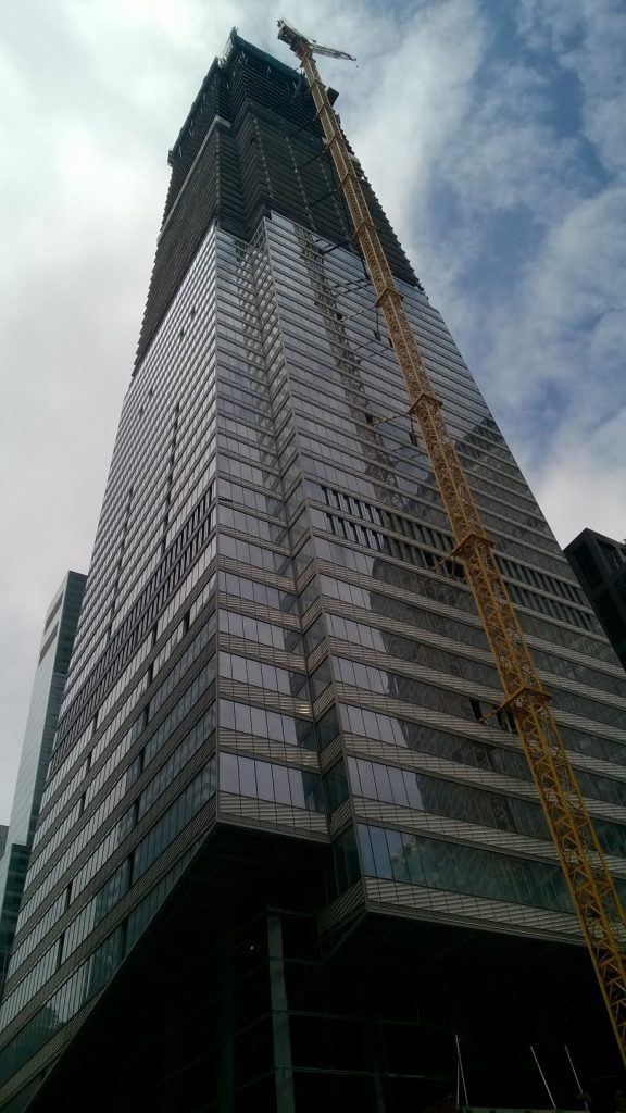 One Vanderbilt Ave, under construction in New York City.