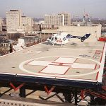 aircraft safety netting for airports and helipads