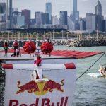 Redbull flugtag glider launch.