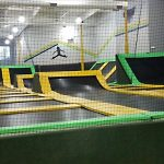 Kids can jump higher in trampoline parks.